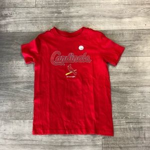 St Louis Cardinals Boys MLB Logo Tee